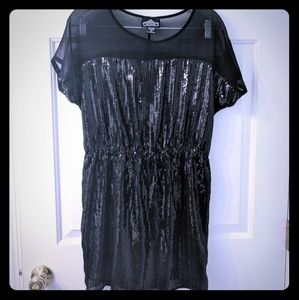 Angie sequin dress